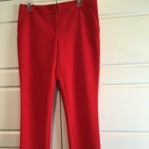 The Limited Red Dress pants